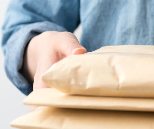 査定価格に納得頂けたら、商品を郵送してください。